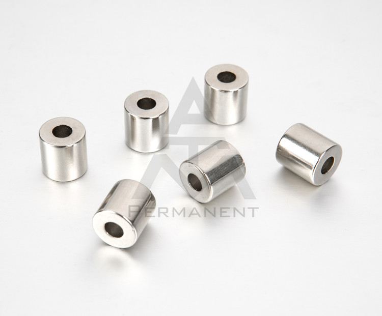 Pipe NdFeB magnet D12XD5X20mm with neodymium magnetic material
