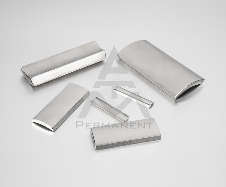 Tile magnet with nickel coating for DC motor